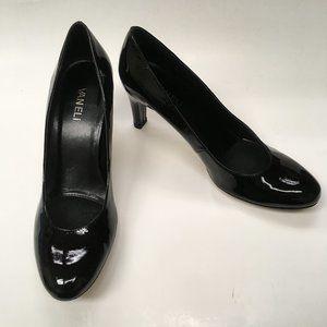 """Vaneli 3"""" Heel Black Patent Leather 9.5N (89)"""